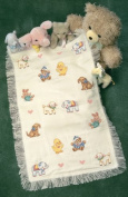 Dimensions Needlecrafts Counted Cross Stitch, Sweet Animal Afghan