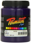 Standard Cover Screenprinting Ink - Purple Permaset Aqua Fabric Magic 300ML