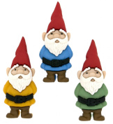 "Dress It Up 19550cm Garden Gnomes"" Novelty Embellishments"