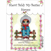 My-Besties Clear Stamps, Holiday Heidi, 10cm by 15cm