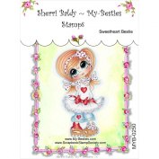 My-Besties Clear Stamps, Sweet Heart, 10cm by 15cm
