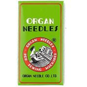 Organ HL X 5 Needles for Juki TL2000QI, TL2010Q, TL98 Series , Janome 1600P and Janome 1600P-QC Machines Size 90/14