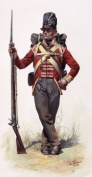 1806-1820 Napoleonic Era British Foot Soldier's Jacket Pattern - Size 3