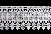 Altotux 10cm - 1.9cm White Venice Lace Ribbon Trim By Yard