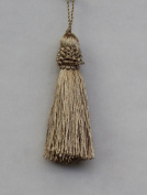 Econfina Tassel Gold, Decoration for your Pillows and more! This tassel would be ideal for curtains, pillows, home decor and fashion apparel Sold in a Pack of 10