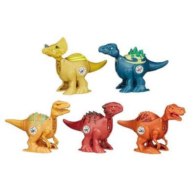 Jurassic World Brawlasaurs Figure 5-pack