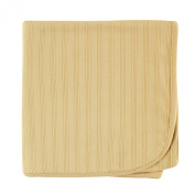 Hudson Baby Organic Cotton Receiving Blanket, Tan