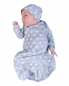 Baby Be Mine Newborn Gown and Hat Set