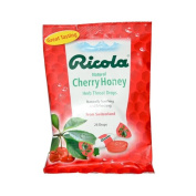 New - Ricola Herb Throat Drops Cherry Honey - 24 Drops - Case of 12