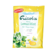 New - Ricola Herb Throat Drops Lemon Mint - 24 Drops - Case of 12