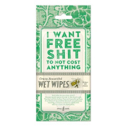Blue Q I Want Free Shit To Not Cost Anything Wet Wipes