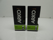 Arko Men After Shave Cream Fresh, Pack of 2, 50ml x 2