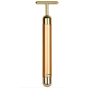Zcargel. Luxurious 24K Gold Beauty Lift Bar Massager, Popular in South Korea face-lift Japan Artefact Skin Tightening ! Anti Wrinkles ! V-Face ! Eliminate Dark Circles ! Effect with a face-lift oil or anti-ageing products better !
