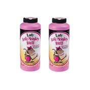 Anti-Monkey Butt Powder Lady 180ml Bottle of Calamine Powder, 2-Pack
