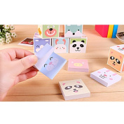 5PCs Animals Cartoon Sticky Notes Post-it Paper Stickers Memo Pad Bookmark