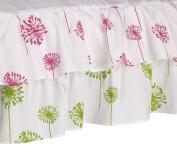 Cotton Tale Designs Crib Skirt, Hottsie Dottsie Dust Ruffle