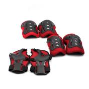 HuntGold New Baby Kid Roller Skating Skateboard Knee Elbow Wrist Protector Guard Pad Gear