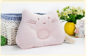 KSB 33cm Cute Soft Anti Roll PP Cotton Baby Head Positioner Pillow,Prevent Flat Head For 3 Months- 3 Year Infant