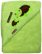 Extra Large 100cm x 80cm Hooded Towel, Mommy & Me Turtles, Frenchie Mini Couture