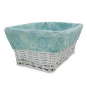 Lambs & Ivy Basket Liner, Yoo-Hoo
