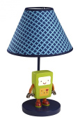 NoJo Baby Bots Lamp and Shade