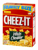 Cheez-It Baked Snack Crackers - Family Size White Cheddar - 620ml