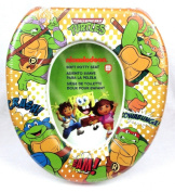 Teenage Mutant Ninja Turtles Comic Style Soft Potty Training Seat