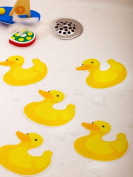 Bathtub Stickers Ducks - Safety Decals Treads Non Slip Anti-skid Shower Applique