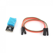 DHT11 Temperature and Relative Humidity Sensor Module +PCB With Cable Compatible With Arduino by Atomic Market