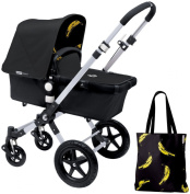 Bugaboo Cameleon3 Accessory Pack - Andy Warhol Black/Banana [Special Edition]