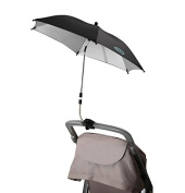 Cool knight Baby Stroller Sunshade/ Uv Protection Umbrella 360 Degrees Adjustable Direction Stroller Accessories Black