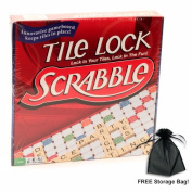 Tile Lock Scrabble w/ Free Storage Bag