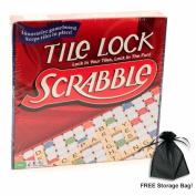 Tile Lock Scrabble w/ Free Storage Bag
