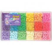 Beadery Bead Extravaganza Bead Box Kit, 580ml, Pastel and Jelly