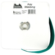 Polypro Webbing 2.5cm Wide 25 Yards-Forest