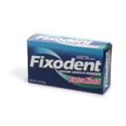 Fixodent Fixodent Denture Adhesive Powder Extra Hold, Extra Hold 80ml