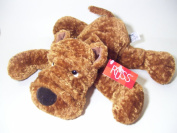 "Russ 'Whispie' the Brown Shar Flopsies Pei Puppy Dog Large 12"" 30cm Plush"