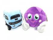 Moshi Monsters Soft Plush Toys - Moshlings Collection Twin Pack - Roxy & Busling - Incs Online Secret Code
