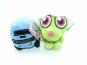 Moshi Monsters Soft Plush Toys - Moshlings Collection Twin Pack - Pooky & Busling - Incs Online Secret Code