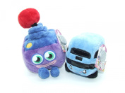 Moshi Monsters Soft Plush Toys - Moshlings Collection Twin Pack - Jiggles & Busling - Incs Online Secret Code