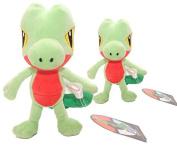 2pcs Pokemon Treecko (Kimori) Plush Toy, Big size 33cm, Small one 20cm