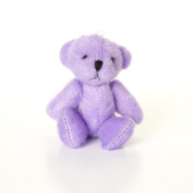 NEW Cute And Cuddly Little PURPLE Teddy Bear - Gift Present Birthday Xmas
