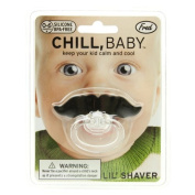Fred & Friends Chill Baby Moustache Dummy 0-6 Mths Silicone BPA Free Mustachifier Pacifier