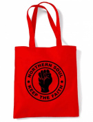 Northern Soul Keep The Faith Tote / Shoulder Bag