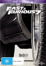 Fast and Furious 7 (DVD/UV) [Region 4]