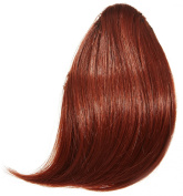 Limited Edition Clip-In FULL Fringe - Instant Celebrity Style (Thermofibre Hair) - Deep Copper