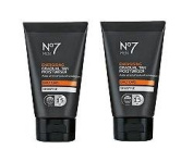 (2 PACK) No7 Men Energising Gradual Tan Moisturiser SPF 15 x 50ml