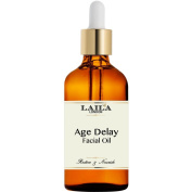 Age Delay - ORGANIC Anti-Ageing Face Oil Serum, Marula, Jojoba Rosehip Oil - The Best Anti Ageing Formula with Natural Ingredients - Will Reduce Fine Lines & Wrinkles And Hydrate Dull Skin. #1 Most Effective Facial Skin Care - Helps Repair Sun Damage,  ..