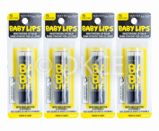 4 x Maybelline Baby Lips Electro Lip Balm - Fierce & Tangy
