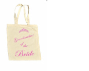 Grandmother of the BRIDE 100% Cotton Bag #4
